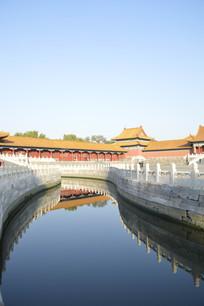 近拍北京故宫古建筑特写