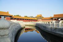 近拍北京故宫古建筑特写图