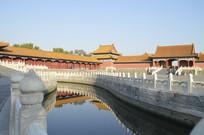 近拍北京故宫古建筑特写图片