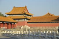 近拍紫禁城北京故宫古建筑