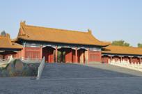 近拍紫禁城北京故宫古建筑图