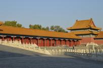 近拍紫禁城北京故宫古建筑图片