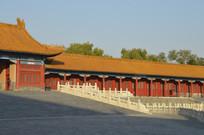 近拍紫禁城故宫古建筑特写图