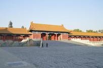 近拍紫禁城故宫古建筑特写图片