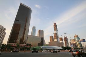 中国大饭店的外景