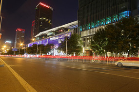 中国大饭店夜景