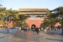 北京故宫明清皇宫特写图