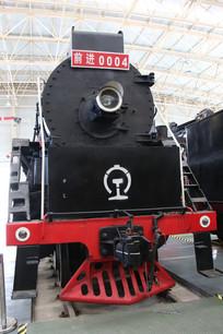 黑色前进火车车头