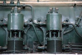 火车蒸汽机部件