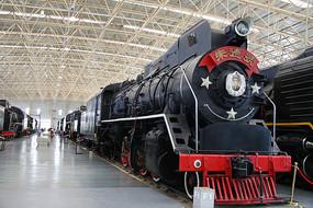 朱德德号蒸汽机火车头