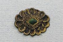 花瓣形金饰