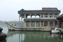 颐和园石船