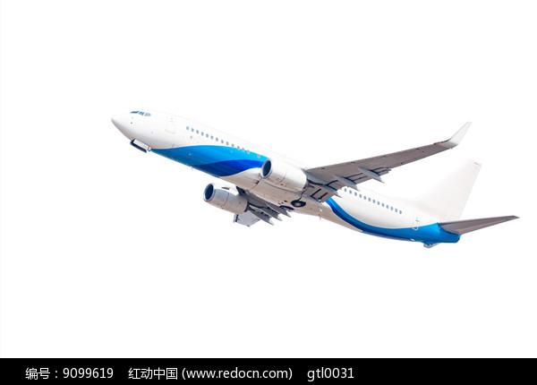 白色背景的飞机图片