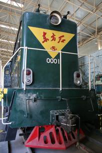 东方红老式火车车头