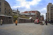 蒙特利尔诺特丹圣母大教堂街道