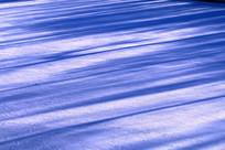 雪地雪景光影