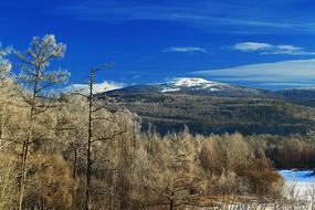 奥克里堆山林海雪原冬景