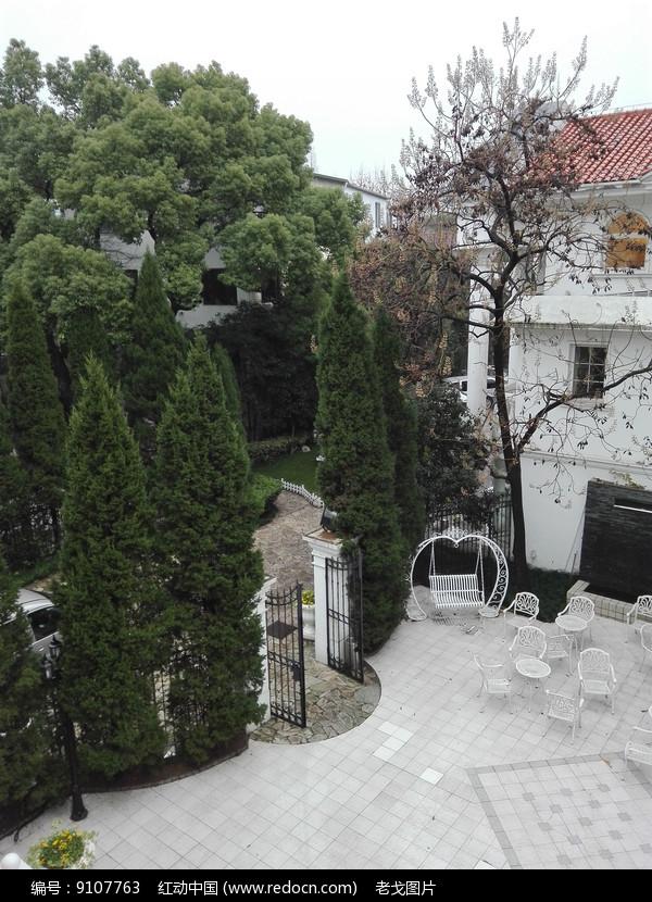 别墅婚礼室外场地图片
