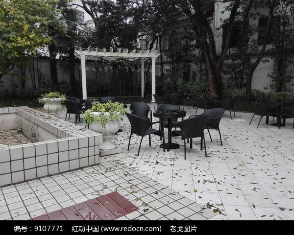 花园婚礼室外场地图片