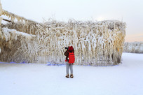 冬季摄影人