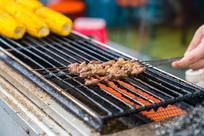 烧烤羊肉串