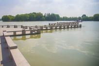 嘉兴南北湖湖中九曲桥