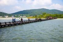 嘉兴南北湖游长桥