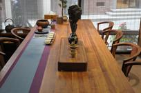 精致茶室横构图
