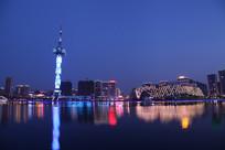 聚龙湖夜景