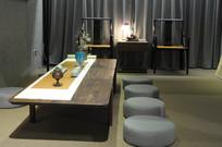 日式茶室近景
