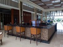海南度假公寓休闲大厅吧台