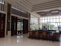 海南度假公寓休闲大厅一角