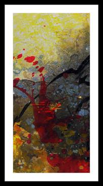 现代艺术抽象油画高清图