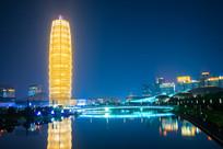 郑州大玉米夜景风光