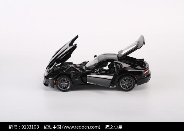 道奇蝰蛇车模模型图片
