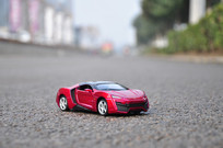 红色黎巴嫩跑车模型