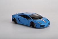 蓝色兰博基尼LP560警车模型