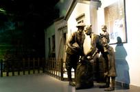 大鹏所城铜像