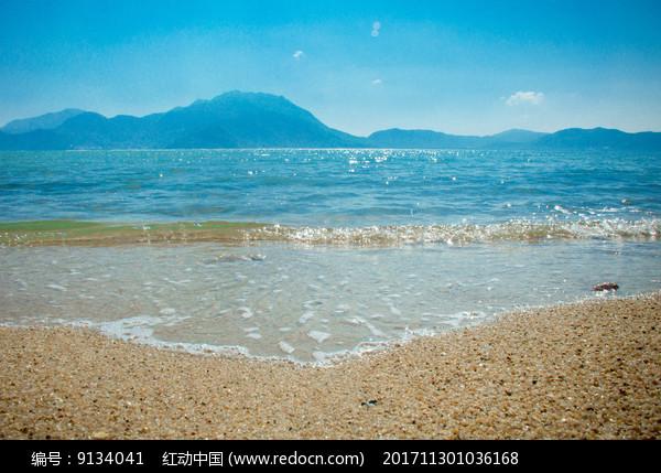 较场尾沙滩图片