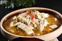 鸡汤菜豆腐