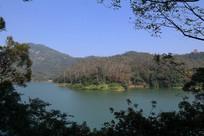 新会大石头景区翡翠湖