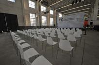 白色椅子会场