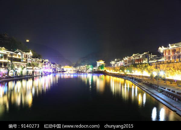 凤凰古城美景图片