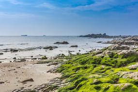 广西冠头岭的沙滩