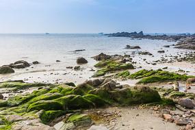 广西冠头岭的沙滩浴场
