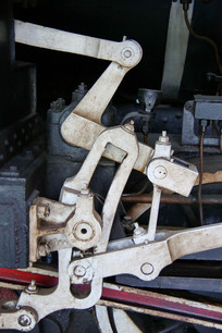 蒸汽火车传动机械
