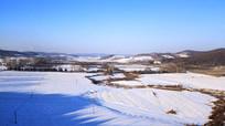 东北冬季农田