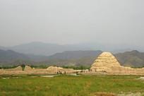 西夏王陵遗址景观
