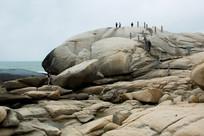 海南文昌石头公园的巨石