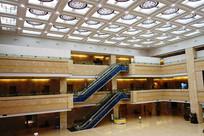 宁夏博物馆大厅建筑